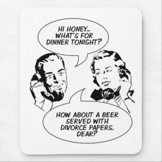 Mousepad feminista retro del humor
