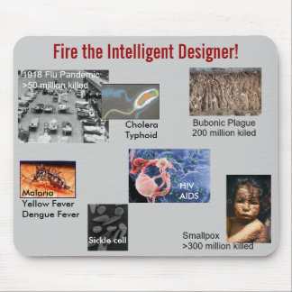 Mousepad: Fire the Designer, diseases I Mouse Pad