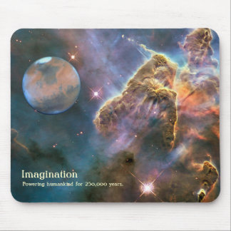 Mousepad: Flight Of Fancy (2) Mouse Pad