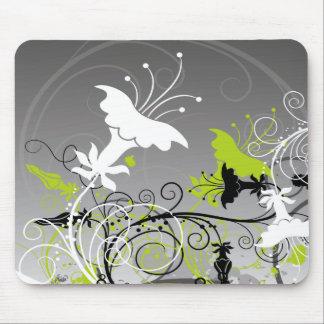 Mousepad floral abstracto alfombrilla de ratón