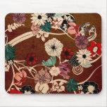 Mousepad floral alfombrilla de raton