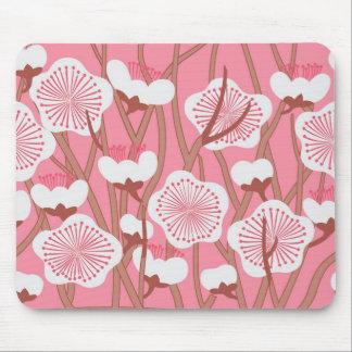 Mousepad floral elegante alfombrillas de ratón