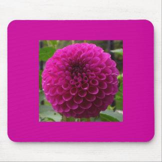 Mousepad floral magenta