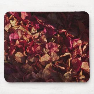 MousePad: Flores muertas del Bougainvillea Mousepads