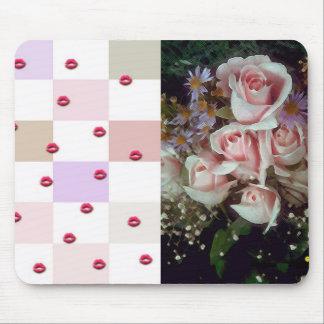 Mousepad Flores rose