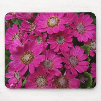 Mousepad florido rosado