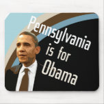 Mousepad for Obama in PA