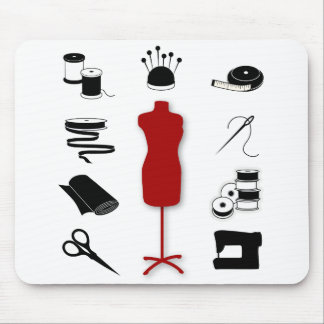 Mousepad for Sewing Fabric Artists