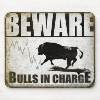 Mousepad for the Bull Market Investors