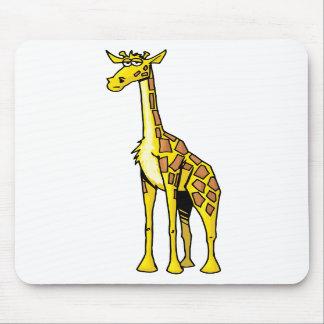 mousepad fresco de la jirafa