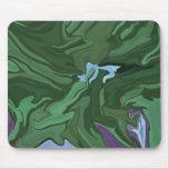 Mousepad fresco del diseñador del arte abstracto d tapete de raton