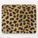 Mousepad fresco del estampado leopardo tapete de ratón