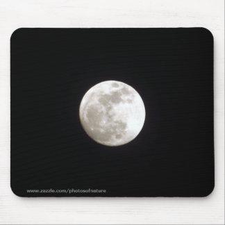 Mousepad - Full moon on clear night sky