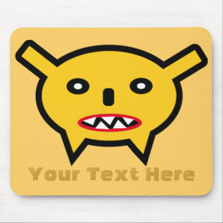 Mousepad Funny Anime Monster And Your Text