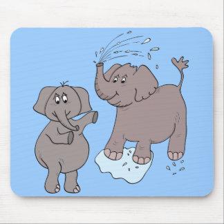 "mousepad ""funny elephants"" cartoon"