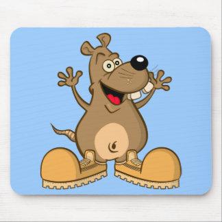 "mousepad ""funny rodent"" cartoon"
