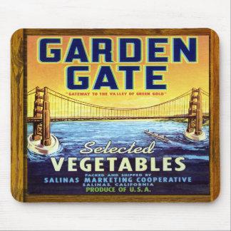 Mousepad - Garden Gate