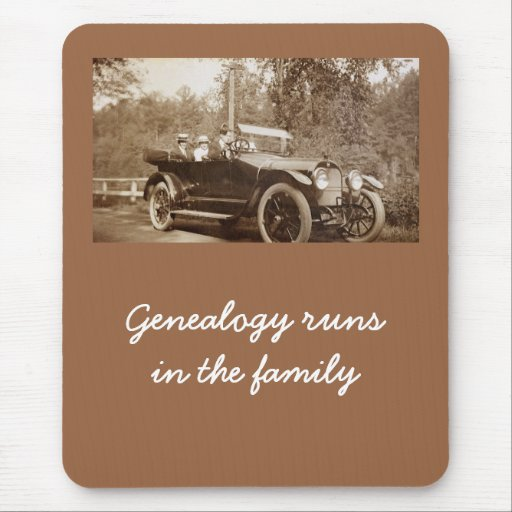 Mousepad - Genealogy runs in the family