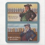 Mousepad German Proverb Choice Dilemma Beer Fun