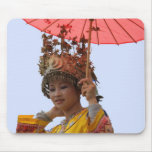 MOUSEPAD - Girl in Traditional Dress