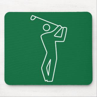Mousepad - Golf Player