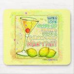 Mousepad - gota de limón Martini