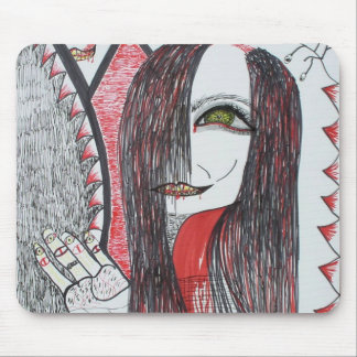 Mousepad - Gothic Art Drawing