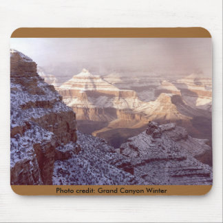 Mousepad / Grand Canyon Winter