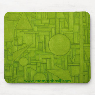 Mousepad - Green City
