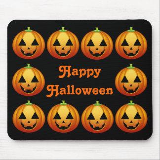 Mousepad Happy Halloween Pumpkins