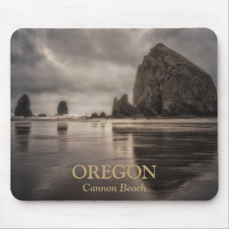 Mousepad: Haystack Rock And Needles Mouse Pad