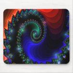 Mousepad hermoso del fractal alfombrillas de raton