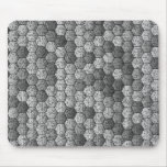 Mousepad hexagonal tapetes de raton
