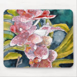 mousepad híbrido del arte de la flor de las orquíd alfombrillas de ratones