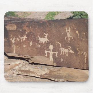 Mousepad histórico de los petroglifos 2 alfombrillas de ratones