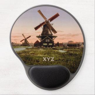 Mousepad holandés del personalizado de los alfombrillas con gel