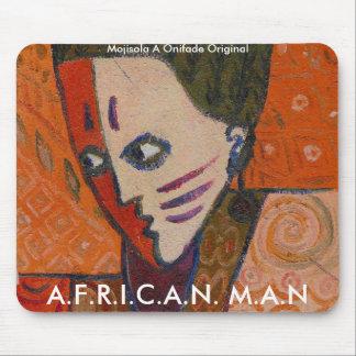 Mousepad - hombre africano tapetes de raton