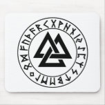 mousepad hor Tri-Triangle Rune Shield