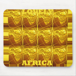 Mousepad Horizontal Template Lovely Africa