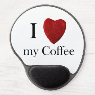 Mousepad i Coffee love my Alfombrillas De Ratón Con Gel