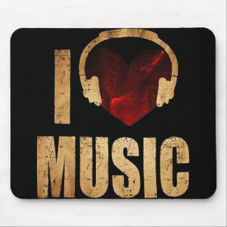 "Mousepad ""I Love Music """