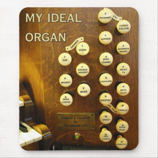 Mousepad ideal del órgano