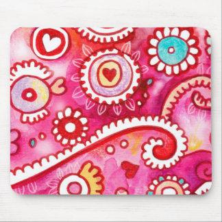 Mousepad ideal rosado