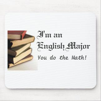 Mousepad importante inglés