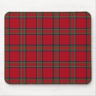 Mousepad in Royal Stewart Tartan Design