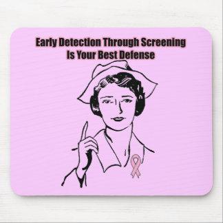 Mousepad - investigación de cáncer de pecho