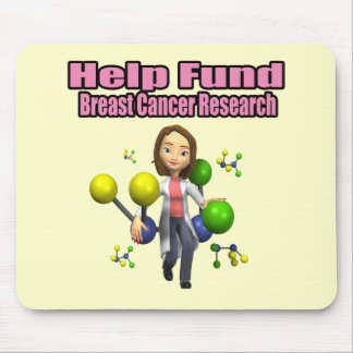 Mousepad - investigación del cáncer de pecho