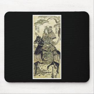 Mousepad japonés del arte del samurai tapete de ratón