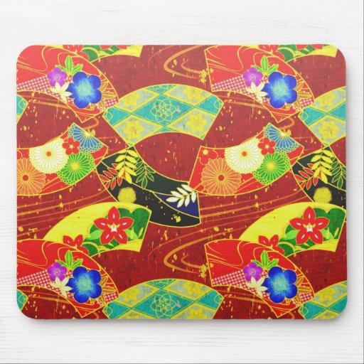 Mousepad japonés oriental abstracto fresco del mod alfombrillas de ratón