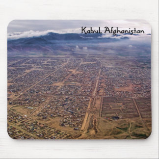 Mousepad:  Kabul from above Mouse Pad